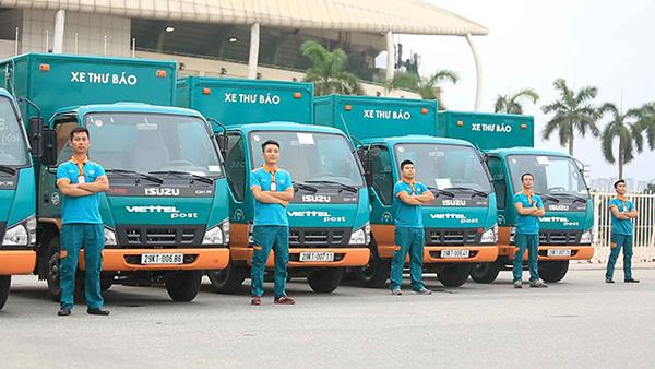 Đội ngũ nhân viên giao hàng của Viettel Post rộng khắp các tỉnh thành