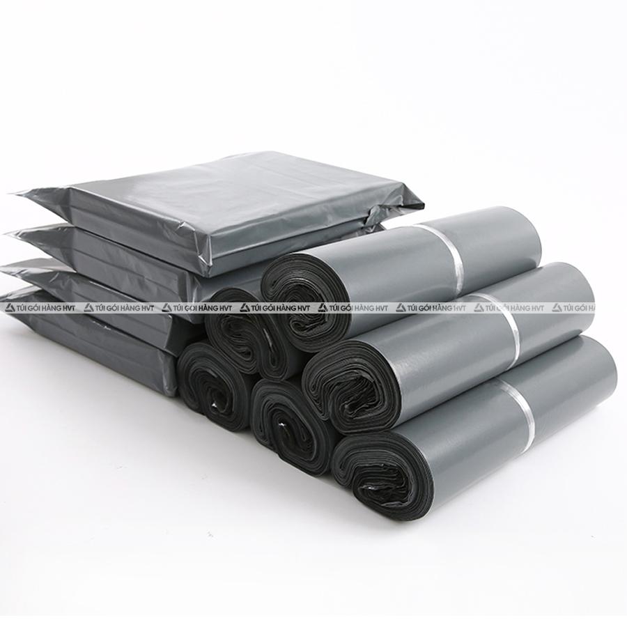 Túi gói hàng màu xám cao cấp 38x52 cm