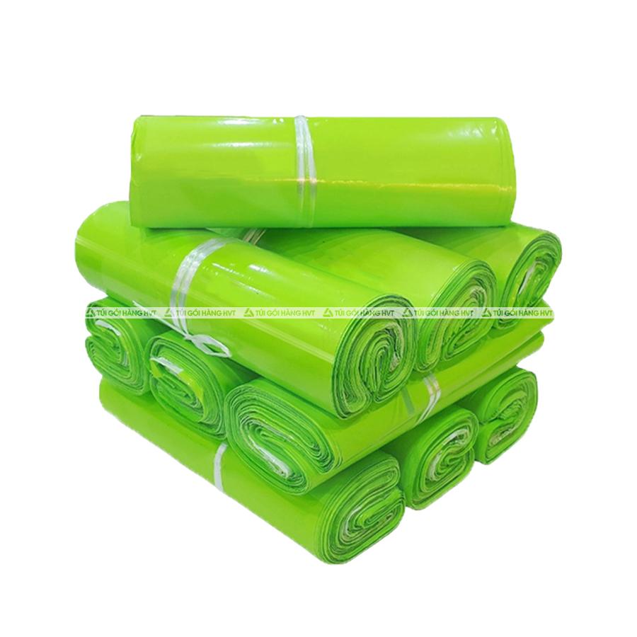 Túi gói hàng màu xanh neon 38x52 cm