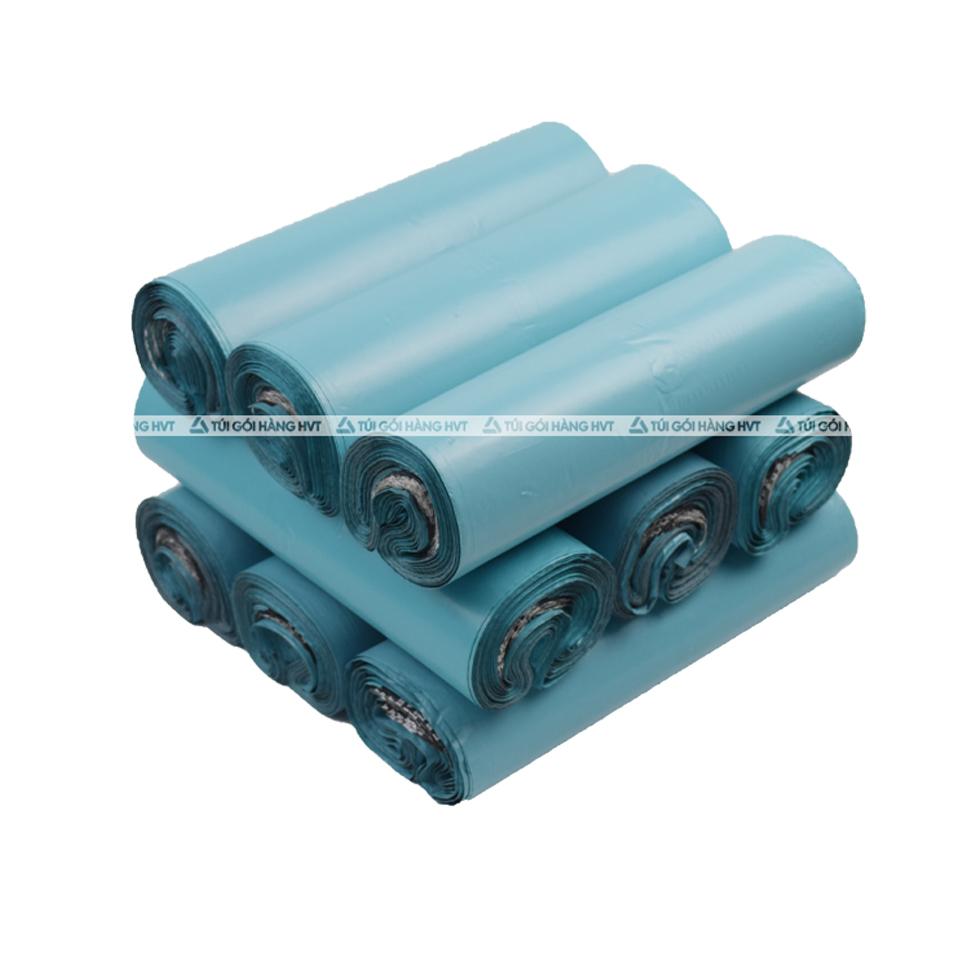 Túi gói hàng màu xanh ngọc 45x60 cm