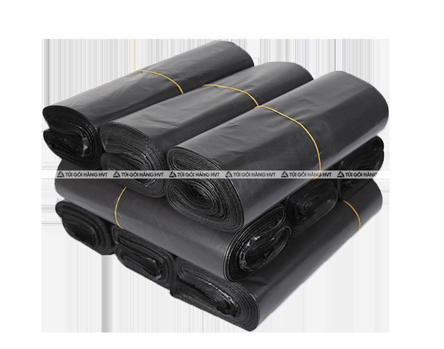 Túi gói hàng niêm phong - Đen - Size 35*45