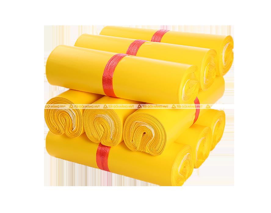 Túi gói hàng có băng keo - Vàng - size 35*45