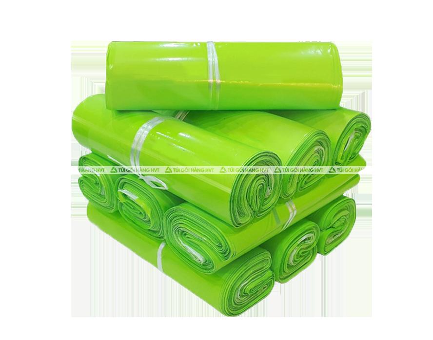 Túi đóng hàng niêm phong - Xanh Neon - size 25*35