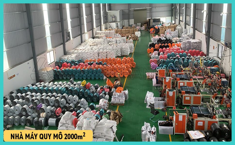 Nhà máy sản xuất túi gói hàng số lượng lớn