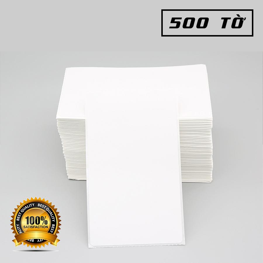 Tệp giấy in nhiệt tự dính khổ 100*100 (500 tờ)