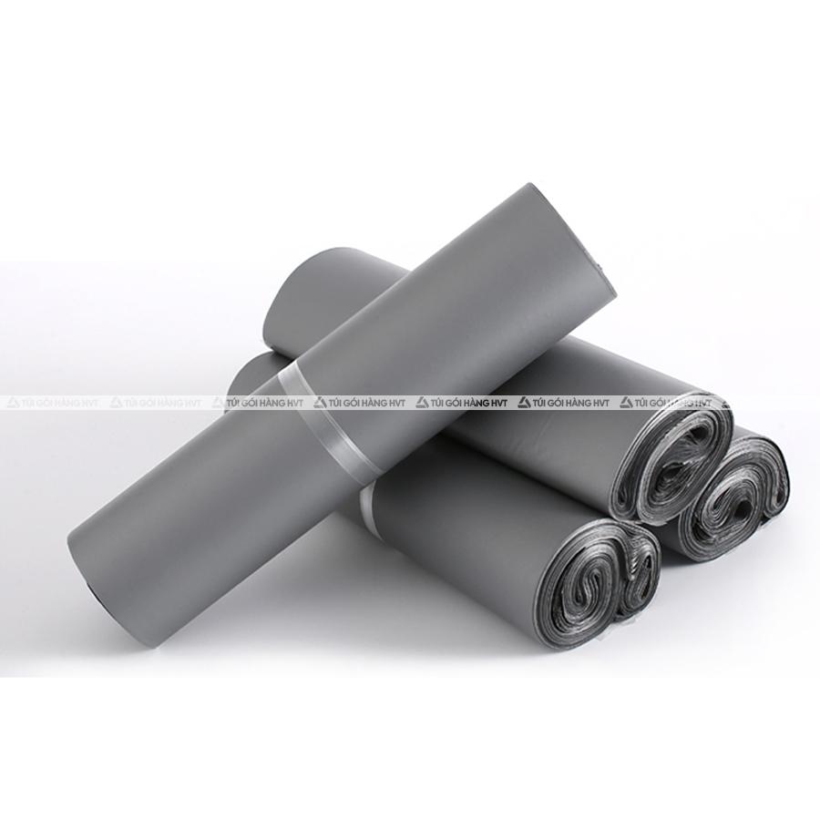 Túi gói hàng màu xám bạc 15x22 cm 9 cuộn