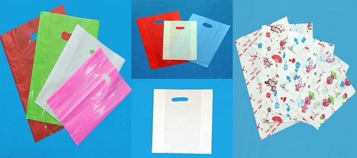 đóng gói hàng bằng túi nilong thông thường