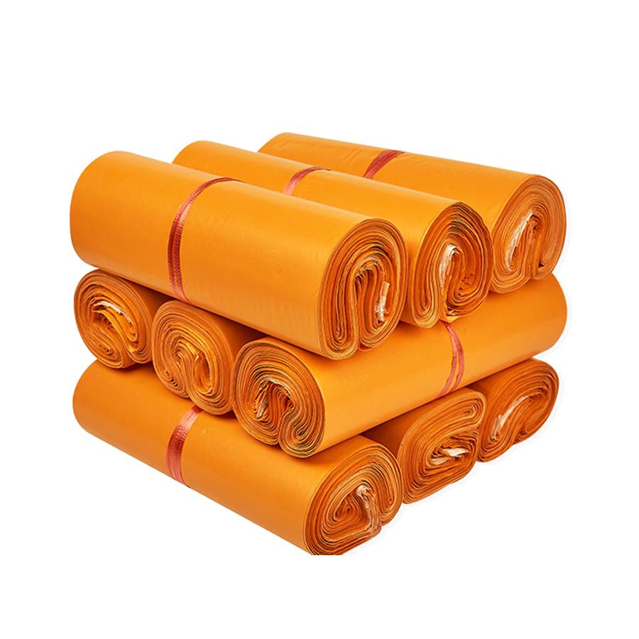 Túi gói hàng màu cam 32x45 cm 9 cuộn