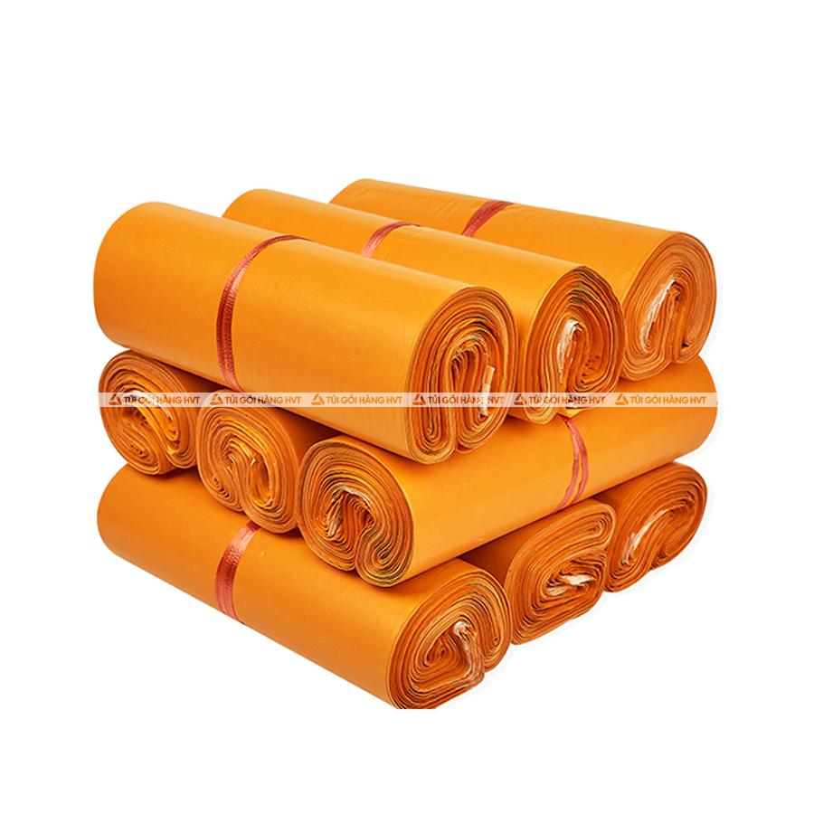 Túi gói hàng màu cam 25x35 cm 9 cuộn
