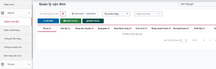 theo dõi vận đơn dễ dàng trên Viettel post
