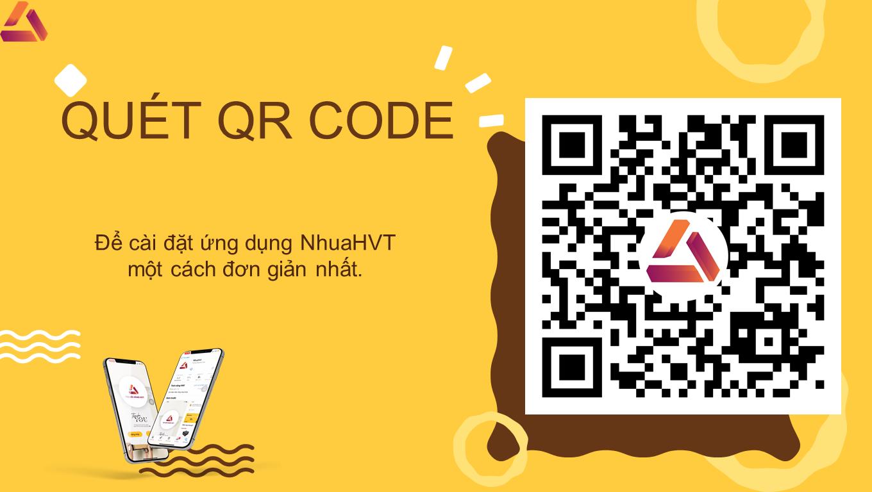Quét QR code để cài đặt ứng dụng
