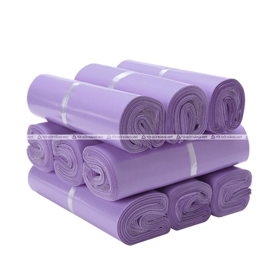 Túi gói hàng màu tím 32*45 cm 9 cuộn
