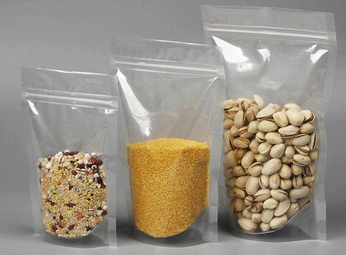 Túi zip đáy đứng rất phù hợp với các loại chất lỏng, bột