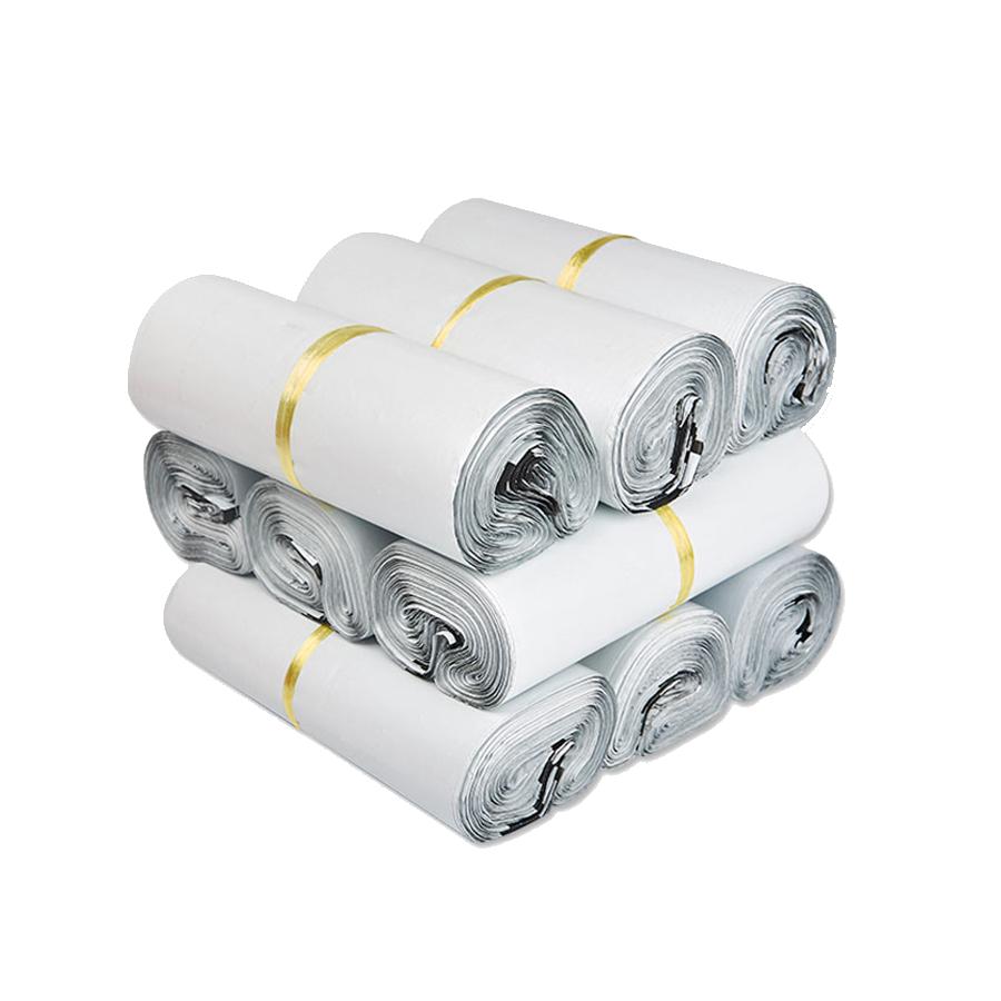 Túi gói hàng màu trắng 17x30 cm 9 cuộn