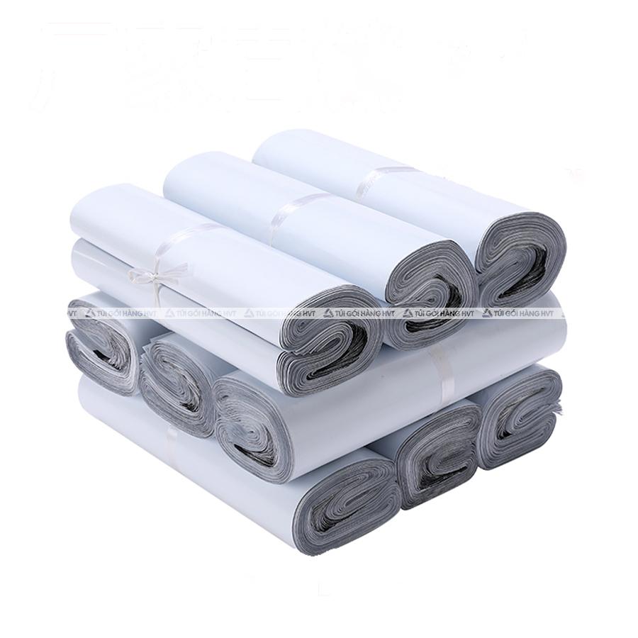 Túi gói hàng màu trắng 28x42 cm  9 cuộn