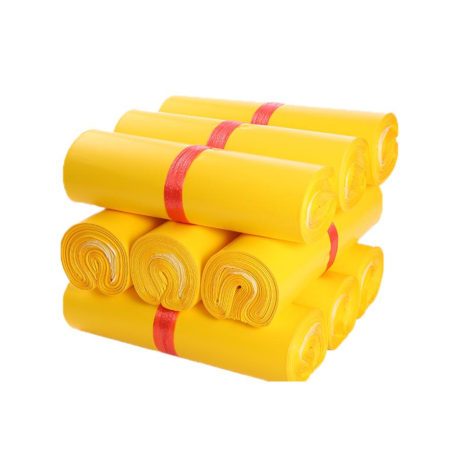 Túi gói hàng màu vàng 17x30 cm 9 cuộn