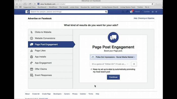 Quảng cáo Page Post Engagement