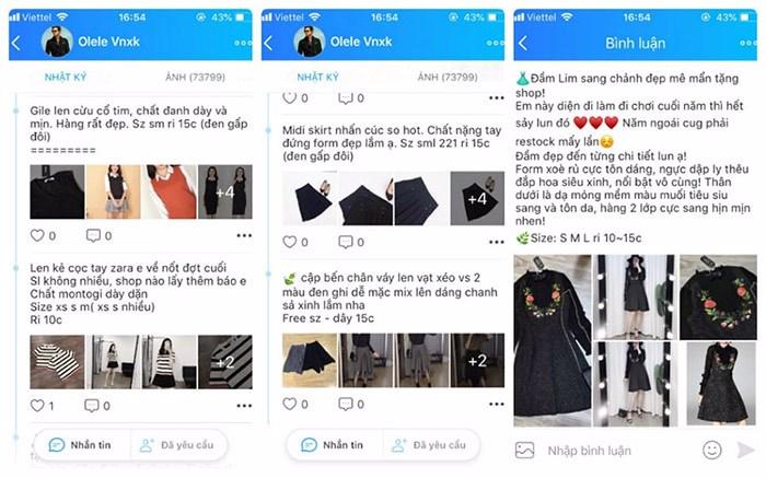 bán quần áo hiệu quả trên zalo