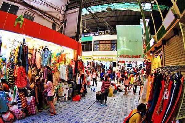 Cách lấy hàng quần áo bán online tại chợ Pratunam
