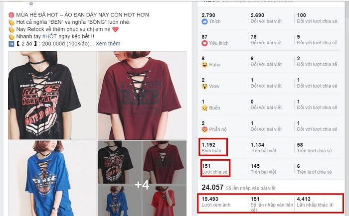 Chiến lược bán quần áo online bằng chạy quảng cáo
