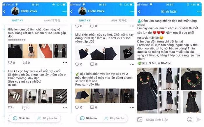 Chiến lược bán quần áo online trên zalo