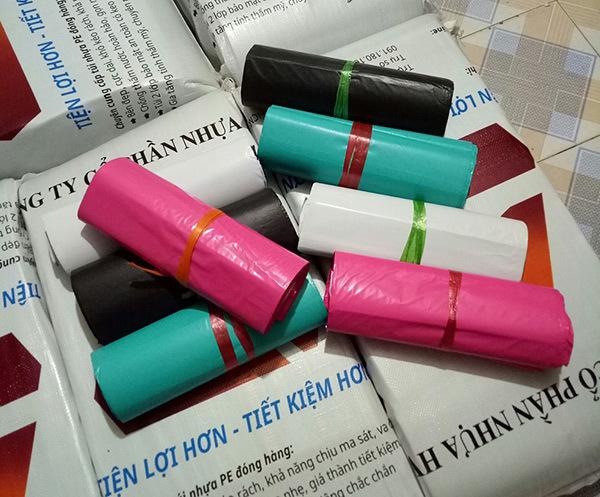 Túi gói hàng HVT cuộn nhiều màu