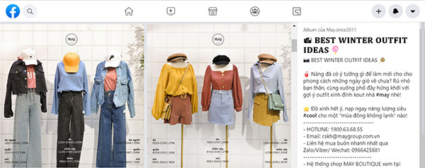 tips đặt giá theo outfit
