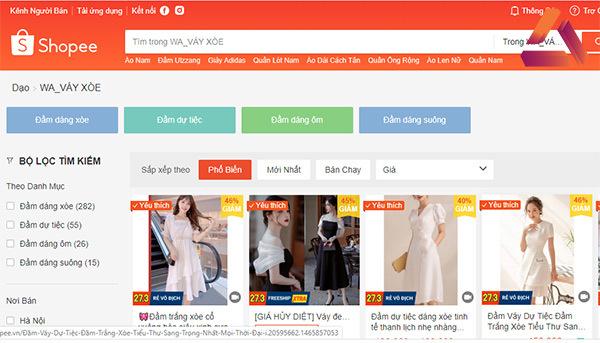 các kênh bán quần áo online thương mại điện tư
