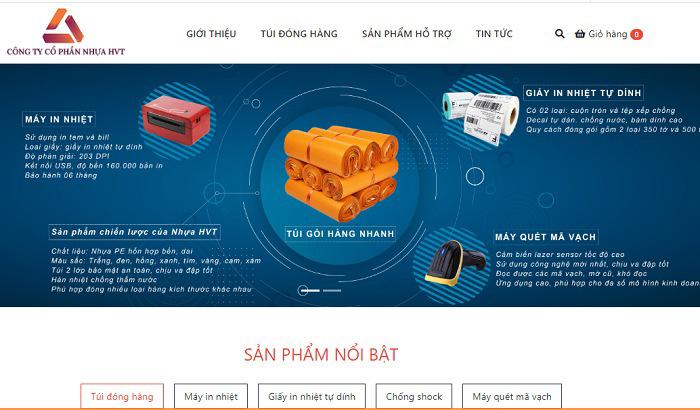 Website bán túi niêm phong