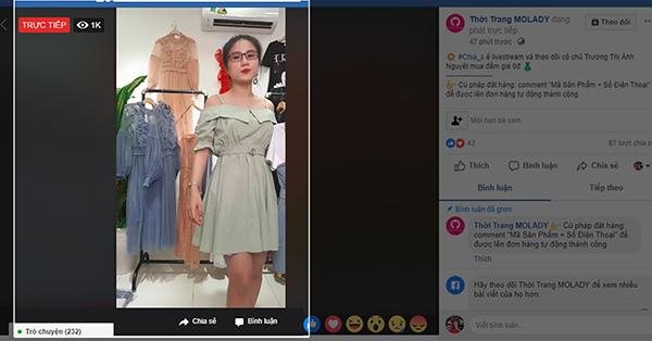 mẫu đẹp livestream
