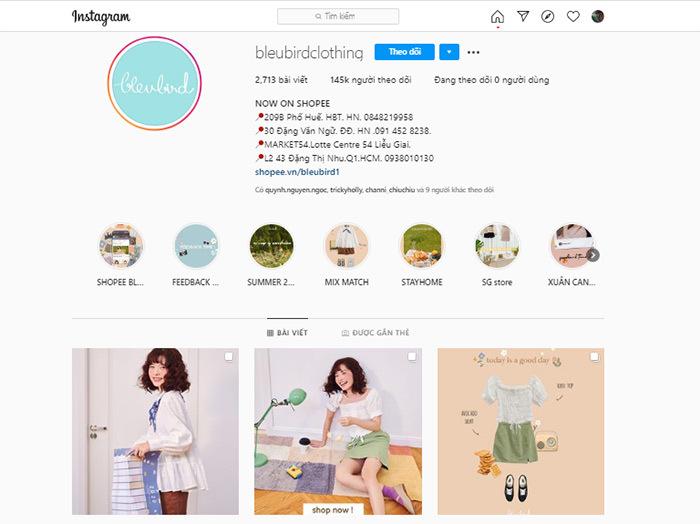chuẩn bị lựa chọn MXH để đăng bán quần áo online