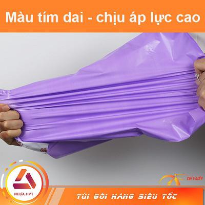 kéo túi tím không rách