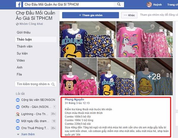 Bí quyết bán quần áo online đăng bài nhanh phê duyệt