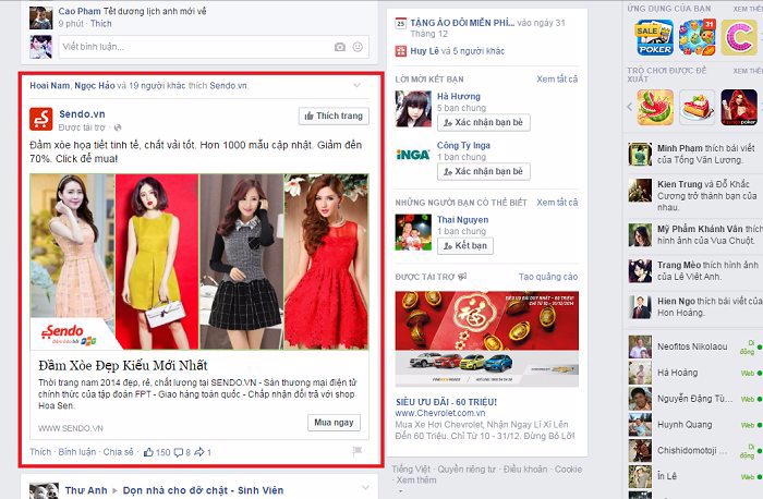 Quảng cáo Page Likes