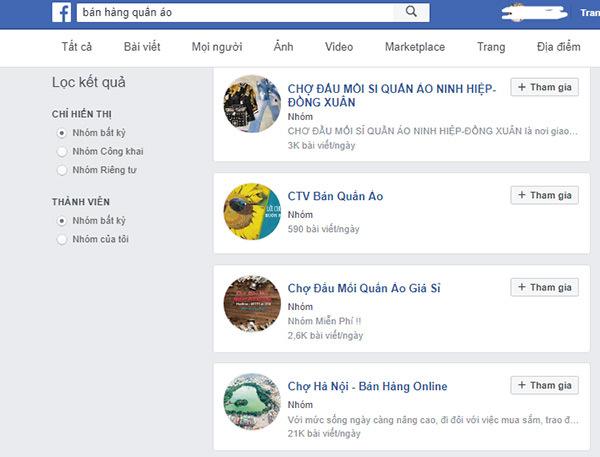 Bí quyết bán quần áo online trên facebook