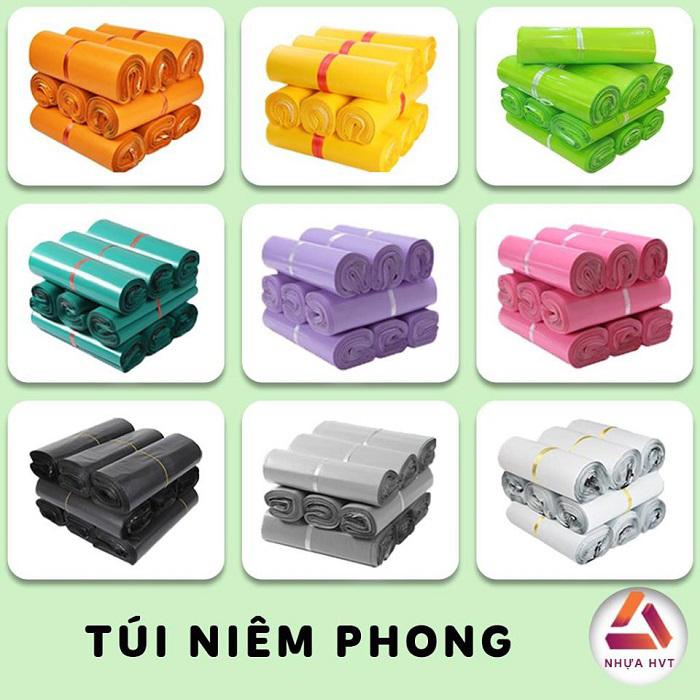 Túi gói hàng có 9 màu đa dạng