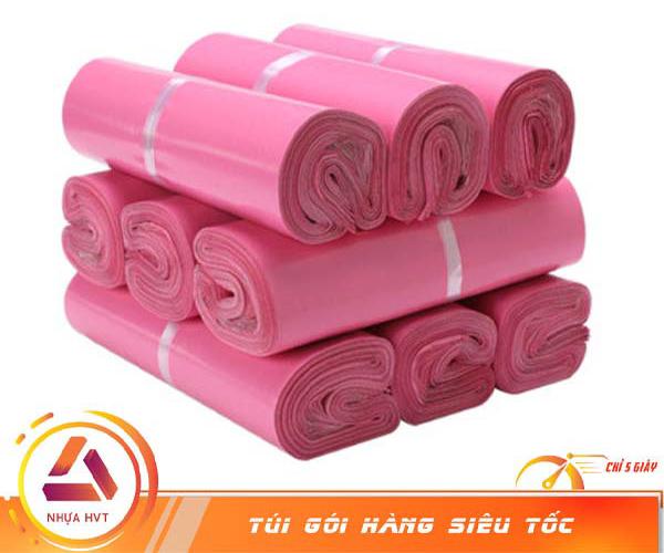 Túi niêm phong màu hồng