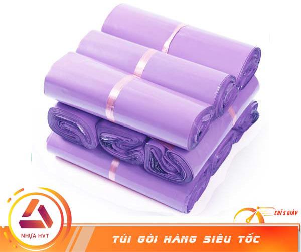 Túi niêm phong màu tím