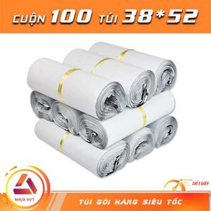 Túi gói hàng màu trắng 38x52 cm 9 cuộn