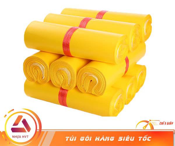 Túi niêm phong màu vàng