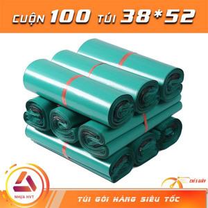 Túi gói hàng màu xám 38x52 cm 9 cuộn