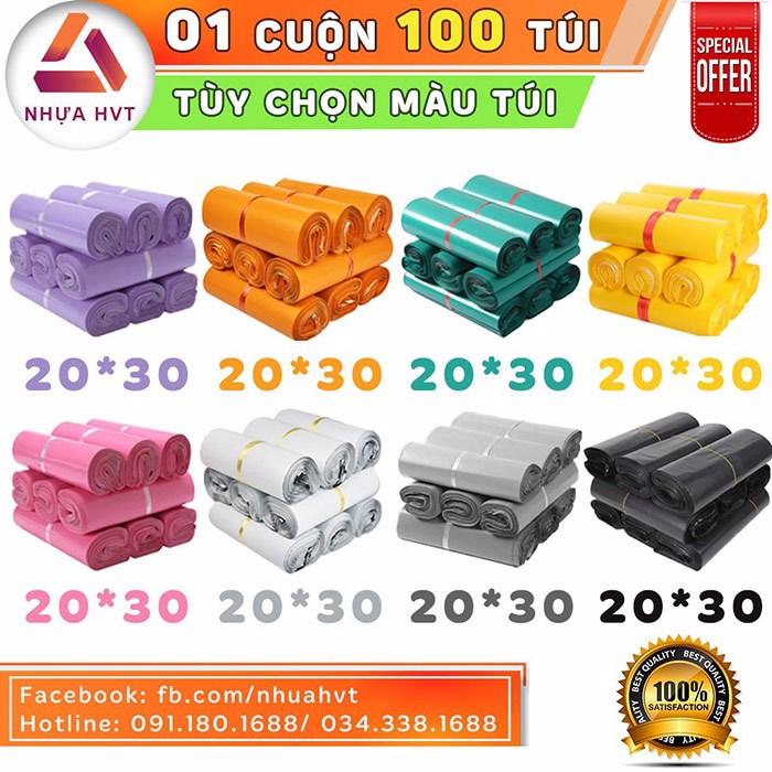 Túi gói hàng đa dạng màu sắc lựa chọn