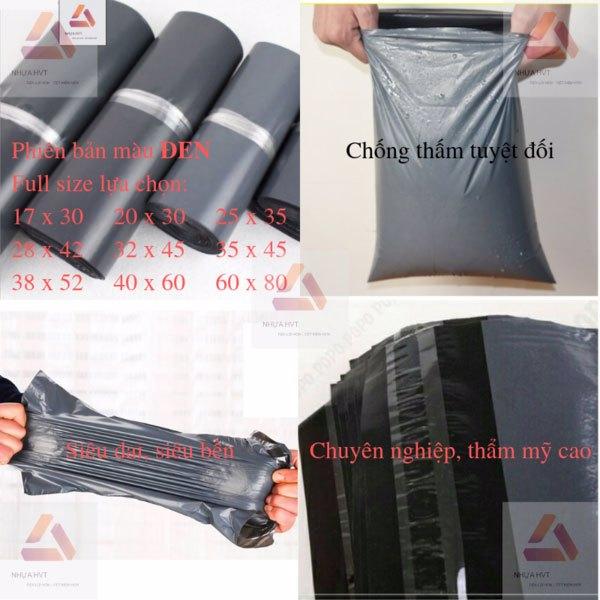 Túi niêm phong màu đen tiết kiệm