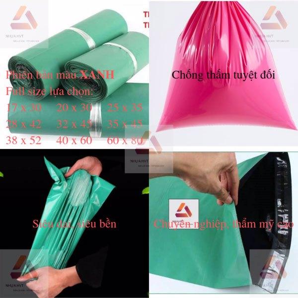 Túi màu xanh siêu bền