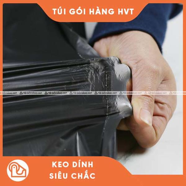 túi niêm phong đóng hàng màu đen size 45 60