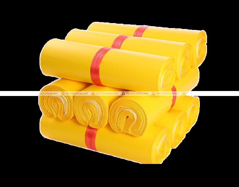 Túi gói hàng niêm phong - Vàng - Size 28*42