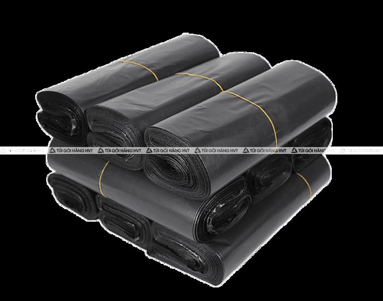 Túi gói hàng niêm phong - Đen - Size 25*35
