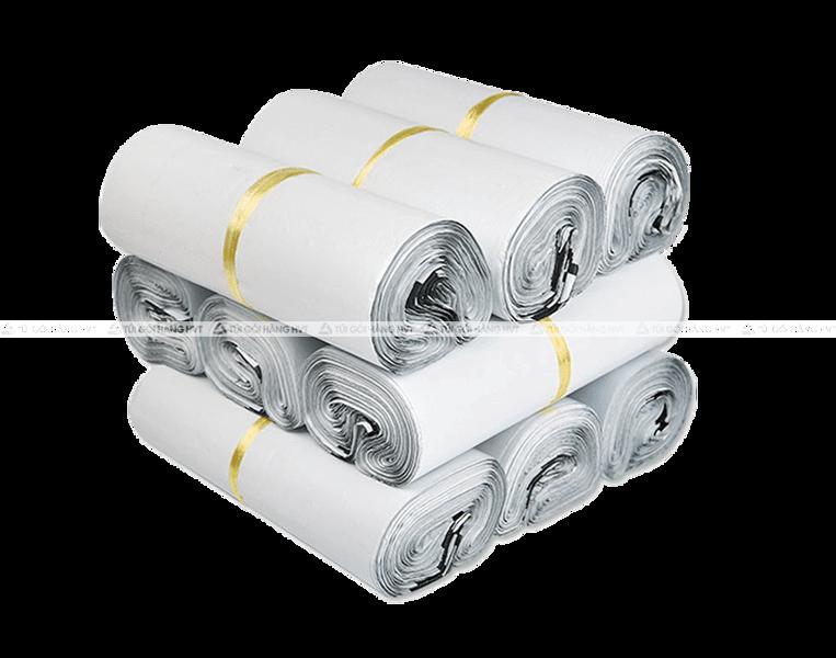 Túi gói hàng niêm phong trắng – size 20*30