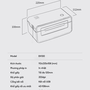 thông số kỹ thuật máy in