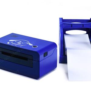 máy in nhiệt EK100 màu xanh